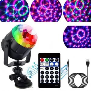 Bola de luces de discoteca giratoria de ZStarlite