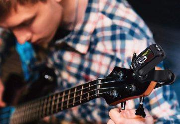 Afinador guitarra